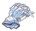 Crystal Gloves FFIII Art