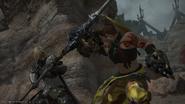 Widargelt vs Adri from Final Fantasy XIV