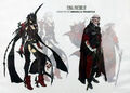 Aranea and Verstael Concept Art