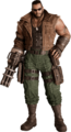 Barret Wallace from FFVII Remake sunglasses render