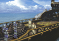 Esthar soldiers intercept the White SeeD Ship from FFVIII R