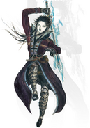 FFBE Lasswell Concept Art