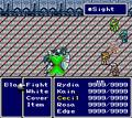 FFIV SNES Sight Battle