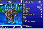 FFV Gilgamesh Bestiary
