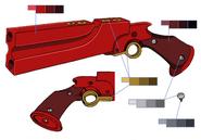 Kaze's Shotgun palette concept for Final Fantasy Unlimited