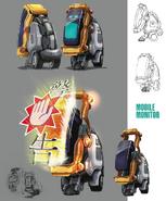 Mobile Monitor artwork for FFVII Remake