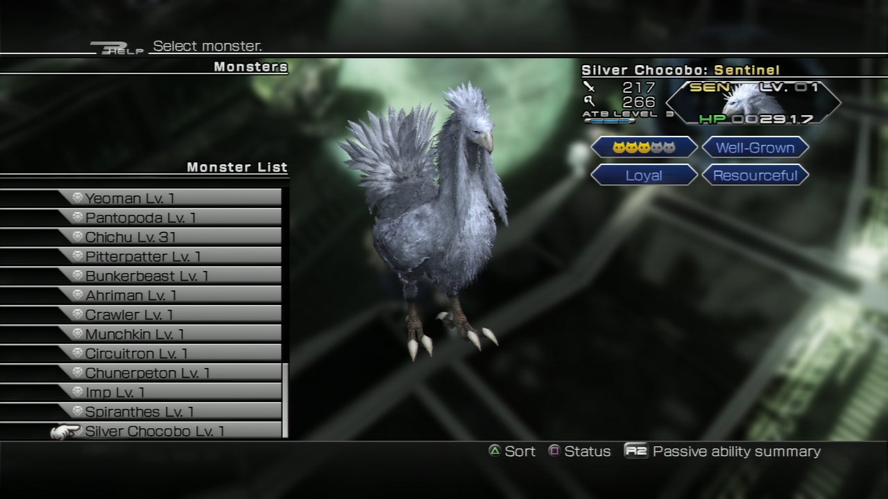 Silver Chocobo