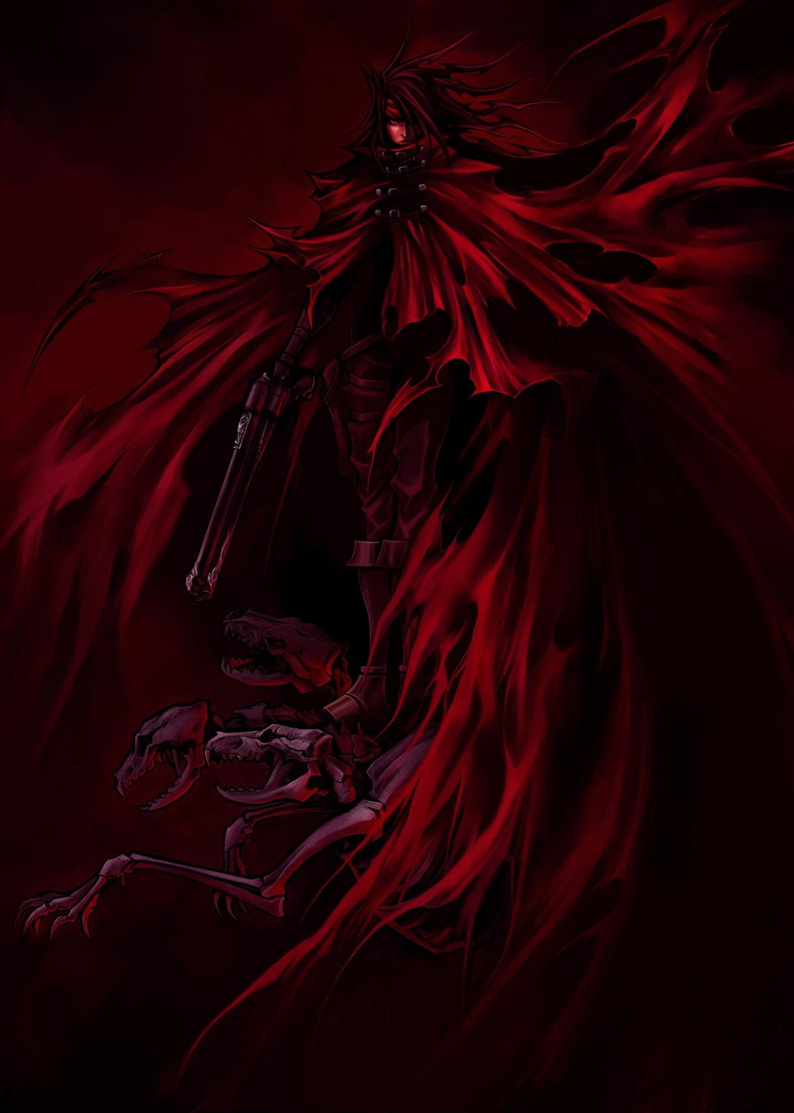 Dirge of Cerberus -Final Fantasy VII- concept art