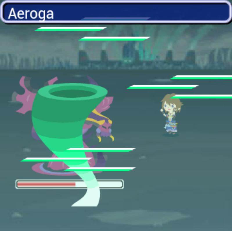 Final Fantasy Airborne Brigade summon stones