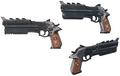 Biggs pistol 2 artwork for FFVII Remake