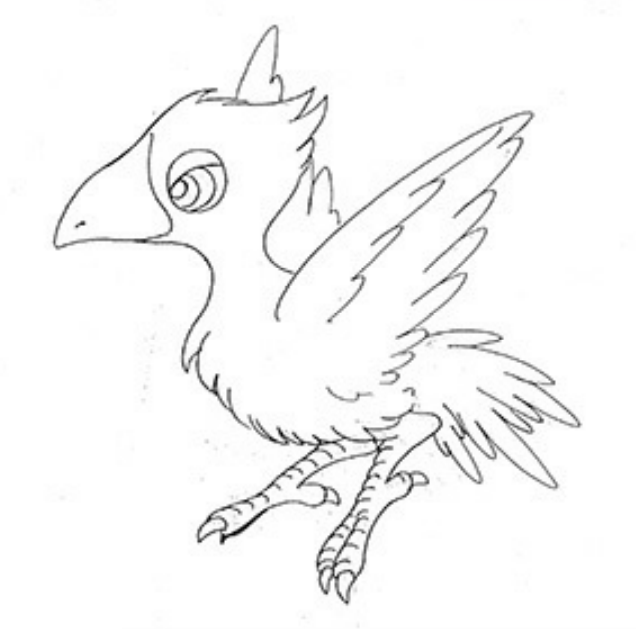 BlackChocobo-ffv-SDsketch.png
