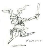 Black Knight FFV Art (unused)