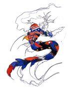 FFIII Mermaid Amano