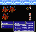 FFIII NES Jump