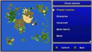 FFIV PSP World Map