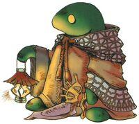Artwork from Final Fantasy IX.