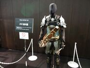 Final Fantasy XIV Armor display