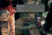 Selling Unes Mirror in Treno from FFIX Remastered