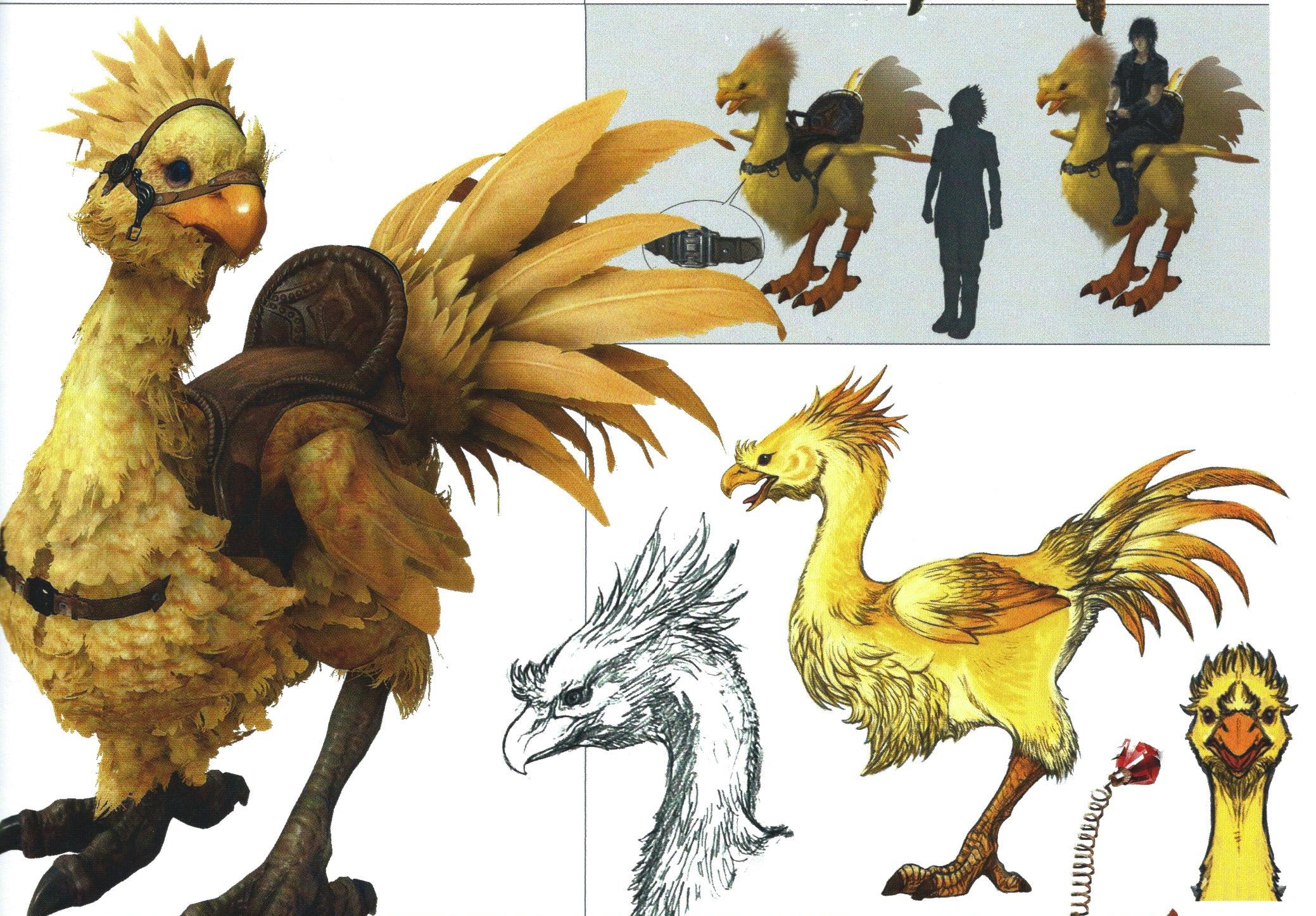 Chocobo (Final Fantasy XV)