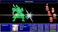 FF4PSP TAY Enemy Ability Zantetsuken