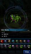 FFBE Killer Mantis Analyze