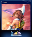 FFXX2 HD Steam Card Yuna