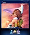 FFXX2 HD Steam Card Yuna