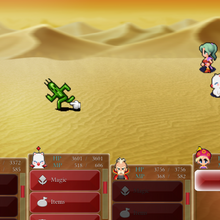 FFVI Android Cactuar Battle.png