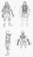 Magitek Trooper Concept Art from FFXV