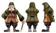 Old Man FFIX Art 1