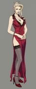 Scarlet from Final Fantasy VII Remake artwork