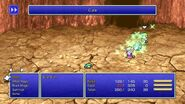 Tellah using Cura from FFIV Pixel Remaster
