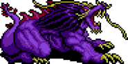 Behemoth from FFIV SNES sprite
