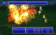 Maria using Flare IX from FFII Pixel Remaster