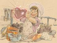 Valentione's Day Artwork 2011 (FFXI)