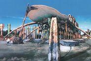 Besaid Tempel Artwork FFX