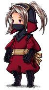 Luneth Ninja FFIII