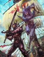 Cecil und Kain Artwork