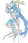 Kain Holy Dragoon Artwork