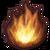 Symbol des Elements Feuer in FFXIV