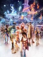 Final Fantasy XIII Werbecover Artwork