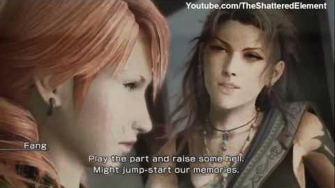 Final Fantasy 13 English Cutscenes 100 - Chapter 8 Hd WideScreen