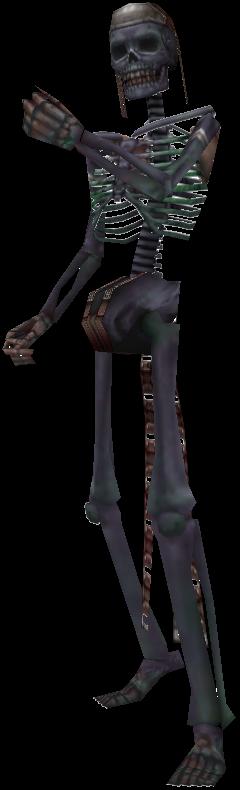 Dunkel-Skeletton