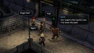 Final Fantasy VII Ever Crisis AVALANCHE vor Reaktoreingang