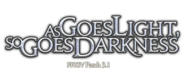 FFXIV As Goes Light, So Goes Darkness Logo