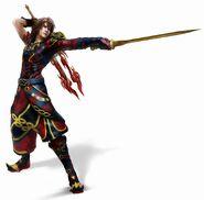 XIII-2 Noel Brave in Blaze Kostüm