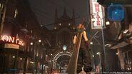 Sektor 8 Straße zum Bahnhofsplatz Final Fantasy VII Remake