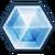 Symbol des Elements Eis in FFXIV