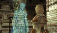 Ashe sieht den verstorbenen Rasler