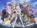 Final Fantasy IV Charaktere Artwork Yoshioka